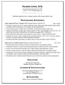Sample Resume Rn – Nursing Resume Sample & Writing Guide   Resume Genius