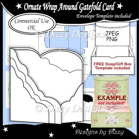 dl gatefold card template ornate wrap around gatefold card template 163 2 50