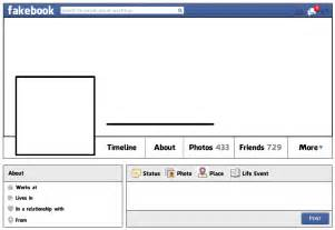 Fakebook Template process the last great race