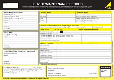 vehicle service record template vehicle maintenance records template pdf picture images