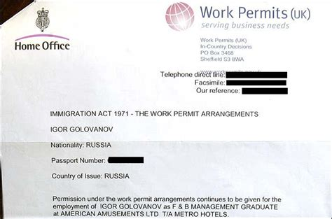 Work Permit In Uk After Mba by How To Get A Uk Work Permit