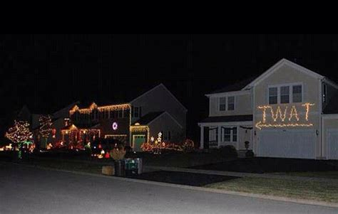 redneck christmas lights