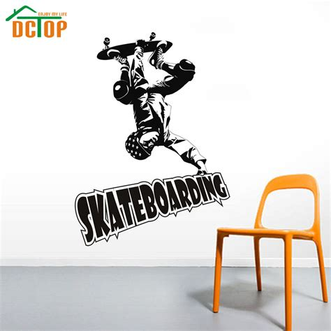skateboard wall stickers popular skateboard wall stickers buy cheap skateboard wall