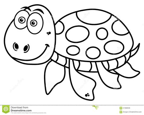 happy turtle coloring page happy turtle coloring stock illustration image 57068536