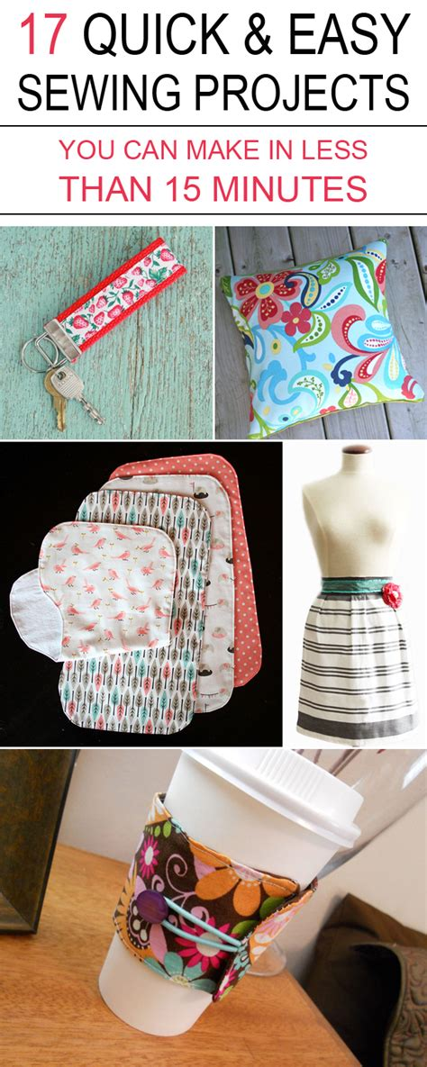 home decorating sewing projects 7 quick and easy no sew 17 quick easy sewing projects you can make in less than