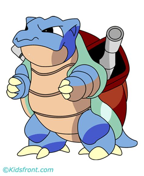 Pages Blastoise blastoise coloring pages for to color and print