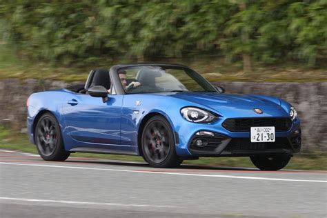 3 Car Garage Door Fiat Abarth 124 Spider 8 Things You Didn T Know