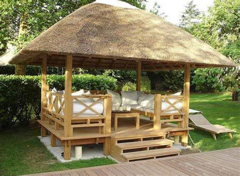gazebo bamboo bamboo gazebo boost your backyard looks gazebo ideas