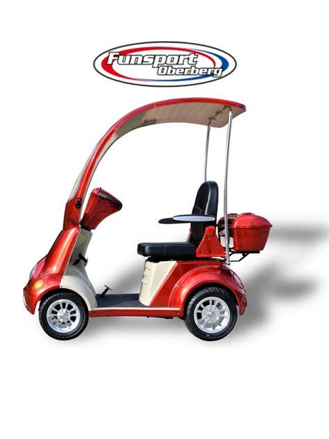 rad scooter fso  mit dach elektromobile pickhardt