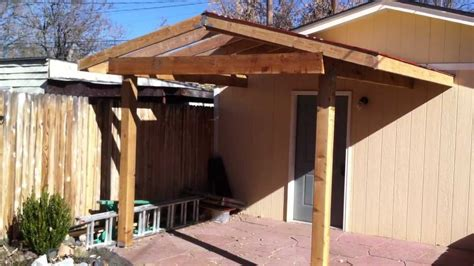 How To Build A Patio Cover by Building A Patio Cover Patio Cover Install Part 2