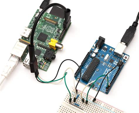 how to connect to raspberry pi raspberry pi and arduino connected using i2c oscarliang net