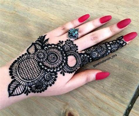 tasmim blog eid simple easy  side mehndi design