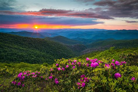 landscapers nc carolina blue ridge parkway landscape craggy gardens nc photograph by dave allen