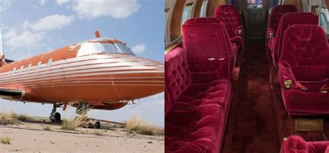 elvis private jet elvis presleys private jet auction