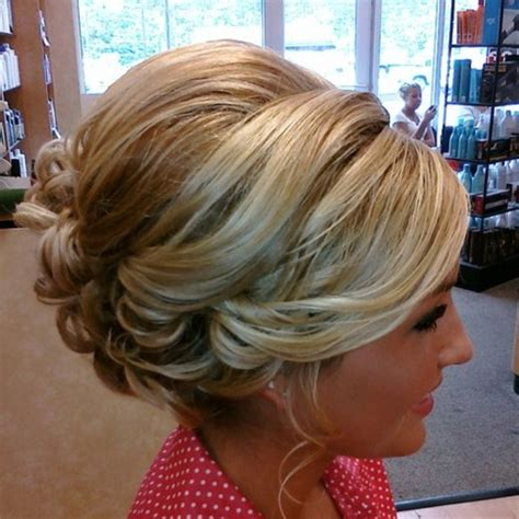 hair with poof on top wedding hair with a little less poof updo hairstyle