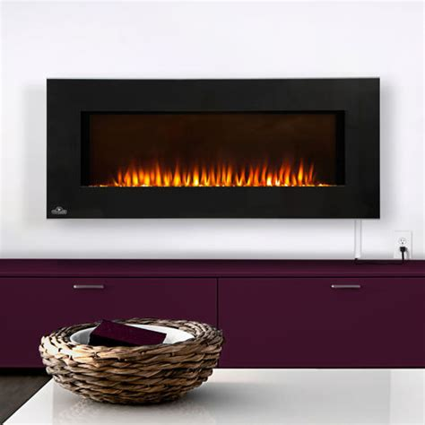 foyer electrique napoleon 174 linear wall mount electric fireplace costco ca