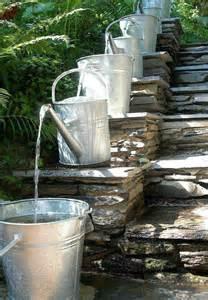 diy water fountain rain barrel pinterest