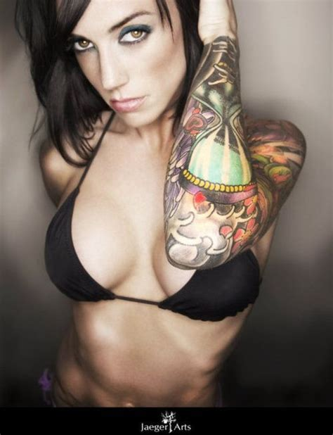 hot tattoo pinterest sexy tattooed babe inked girls pinterest