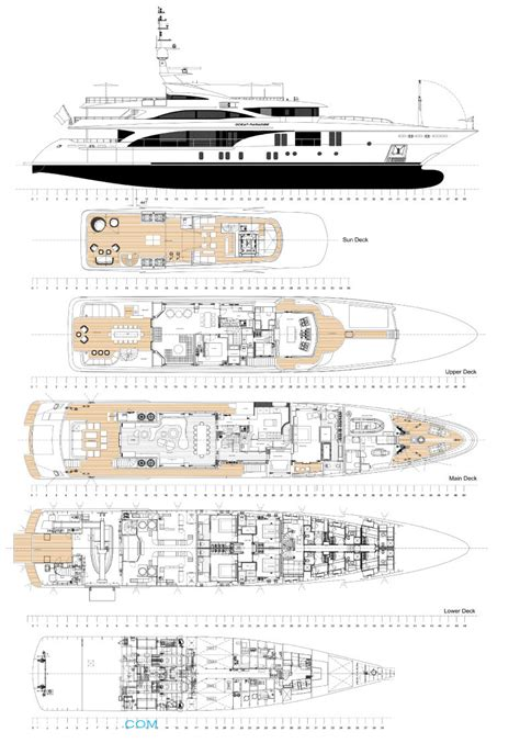 yacht layout plans ocean paradise layout benetti motor yacht superyachts com
