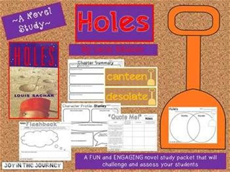 book report on holes quot holes quot mega activity packet a novel study of the book by