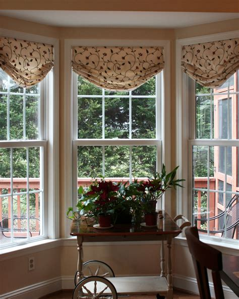 bay window shades different classes of shades for bay windows theydesign