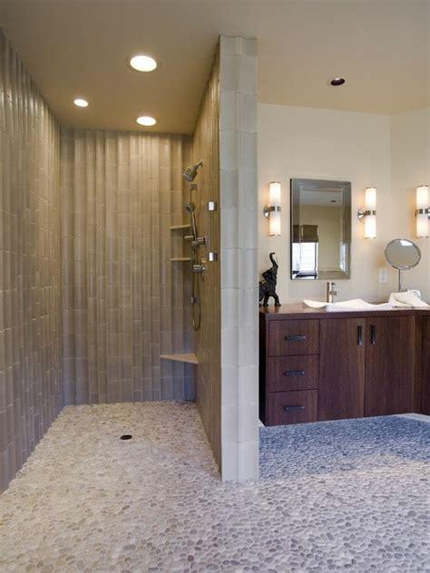 doorless showers design pictures remodel decor