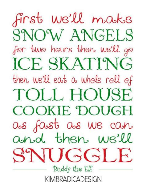 printable elf quotes quotes from the movie elf quotesgram