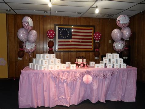 Pink And Black Polka Dot Baby Shower Decorations by Polka Dot Baby Shower Decorations Best Baby Decoration