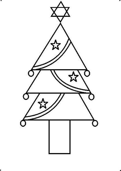 drawing step to step christmas decorations how to draw a decorative tree using geometrical shapes