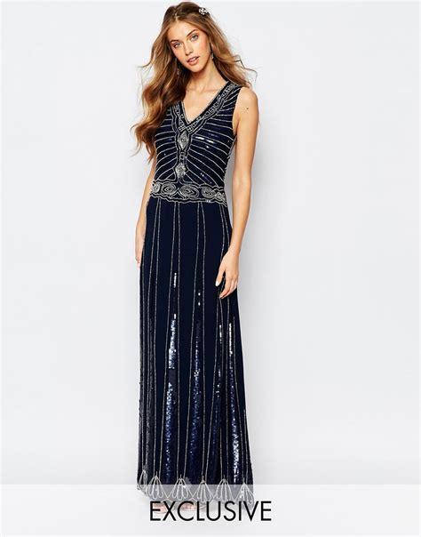 Mahya Dress vintage embellished maxi dress the dress villa