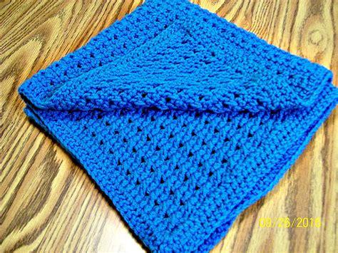 Handmade Crochet Blanket - handmade crochet baby blanket baby bedding gift crib