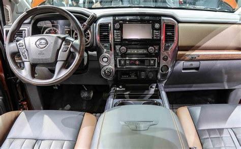 nissan titan interior 2017 2017 nissan titan xd price release date review diesel