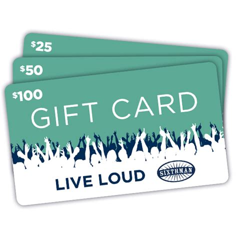 Common Man Gift Card - sixthman music festivals at sea live loud
