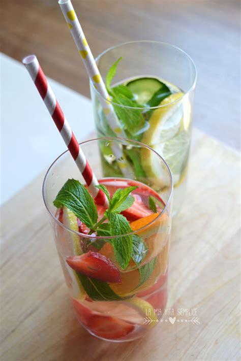 acqua demineralizzata fatta in casa acqua aromatizzata alla frutta fatta in casa babygreen
