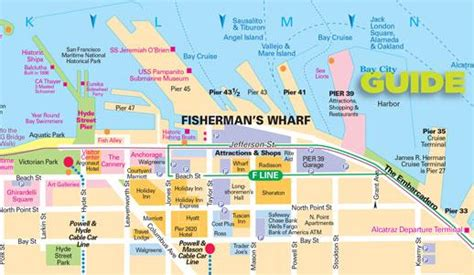 san francisco map of fishermans wharf san francisco maps for visitors bay city guide san