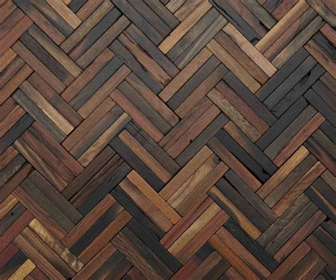 Wall Texture Design by 35 Free Herringbone Patterns