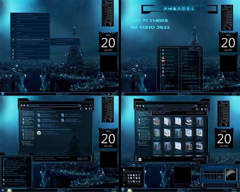 themes for windows 7 movies windows 7 theme sci fi by tono3022 on deviantart