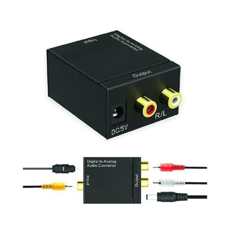 Converter Tv Analog Ke Digital Universal New Digital To Analog Audio Converter Adapter Black Buy Jumia Kenya