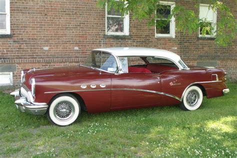 54 Buick Special For Sale 1954 Buick Special 2 Door Hardtop 40 Series No Post