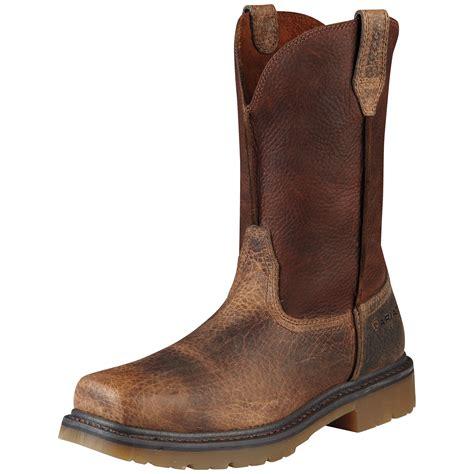 ariat s rambler boots pungo ridge ariat s rambler boots work pull on st