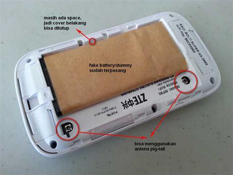 Battery Dummy Modem Bolt Zte Mf90 Bisa Tutup Belakang battery dummy modem mifi zte mf90 bolt 4g special cover bisa ditutup kaskus the