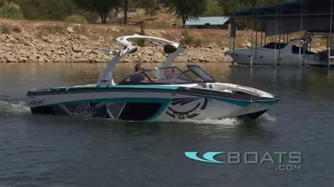 tige tow boats 2012 tige rzr tow boat review performance test youtube