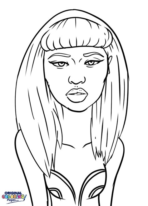 nicki minaj coloring pages nicki minaj pages coloring pages