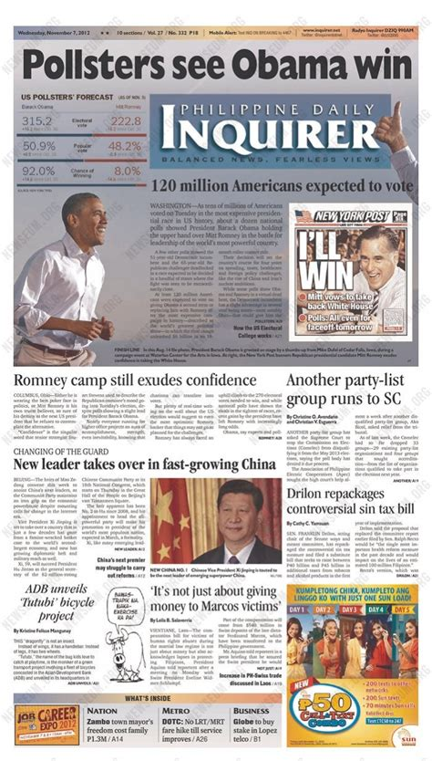 where are the obamas now pin by thomas on obama s re election newspaper front