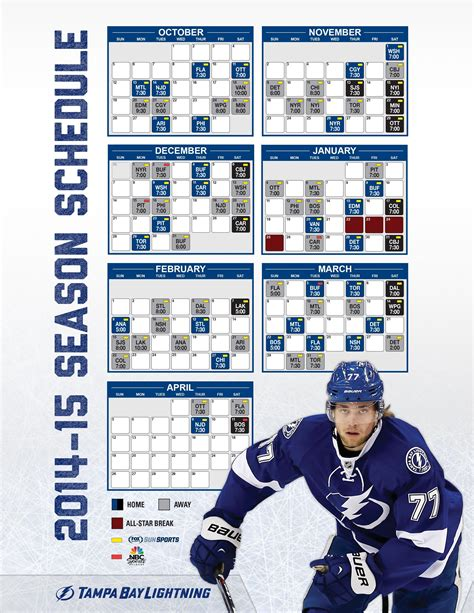 printable nhl schedule 2015 16 ta bay lightning schedule march 2018 lilianduval