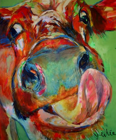 scow paintings 113 best images about colorful cows on pinterest