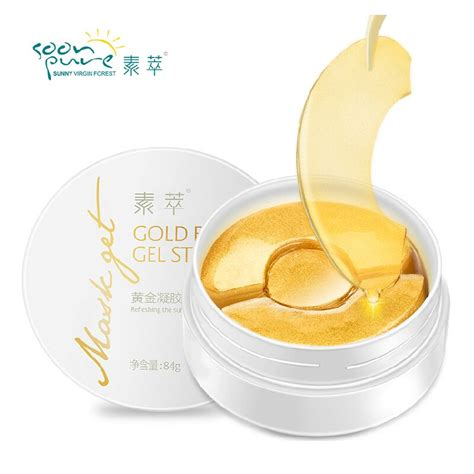 Aqua Collagen Gold Mask aliexpress buy soon gold aquagel collagen eye mask ageless sleep mask eye patches
