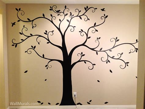painting murals on walls tree wall murals 50 painted tree wall mural