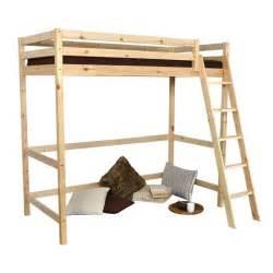 lit mezzanine en 90 wood achat vente lit mezzanine
