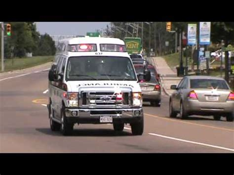 firefighter lights and sirens ambulance with siren videolike
